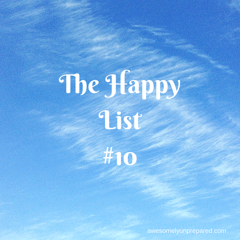The Happy List#10