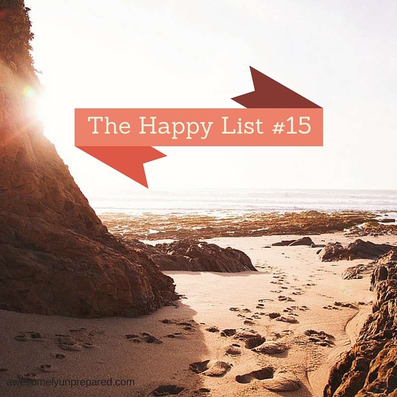 HAPPY LIST#15
